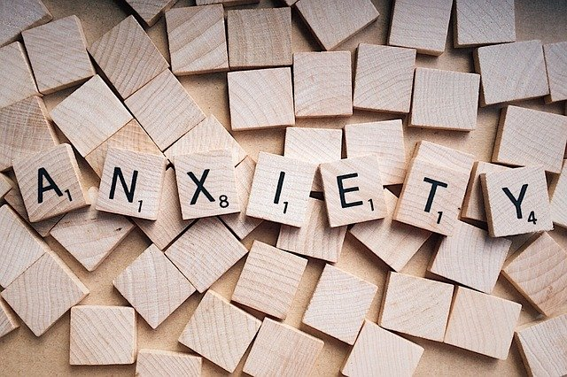 anxiety spelled out